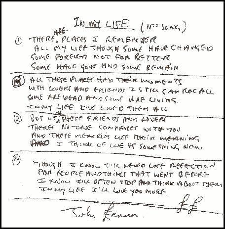 Write a classic lyrics