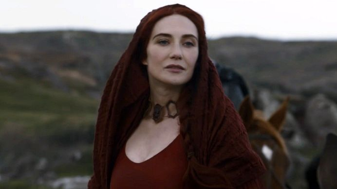 game of thrones red woman actress