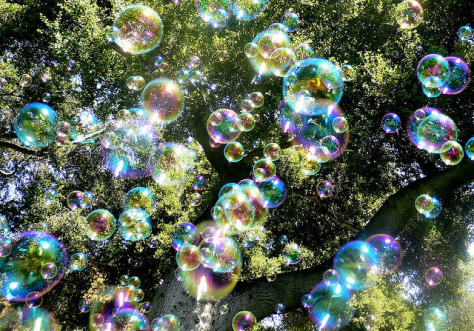 Bubble Rain.  Source:  Steve Jurvetson, Creative Commons license.