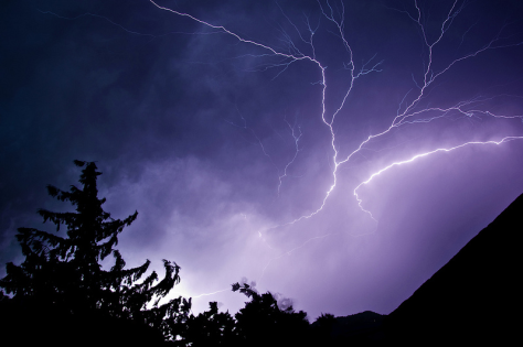 Electrostatic discharge or weapon of the gods?  Lightning #3, Benjamin Stäudinger, Creative Commons license.
