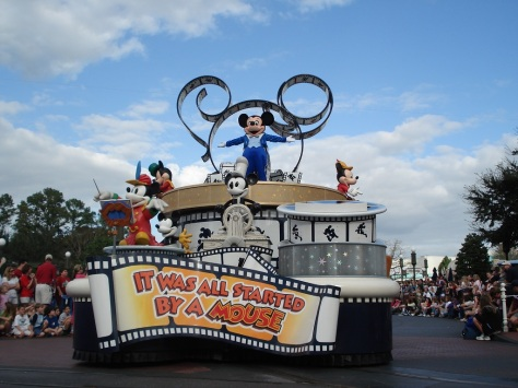 mickey float